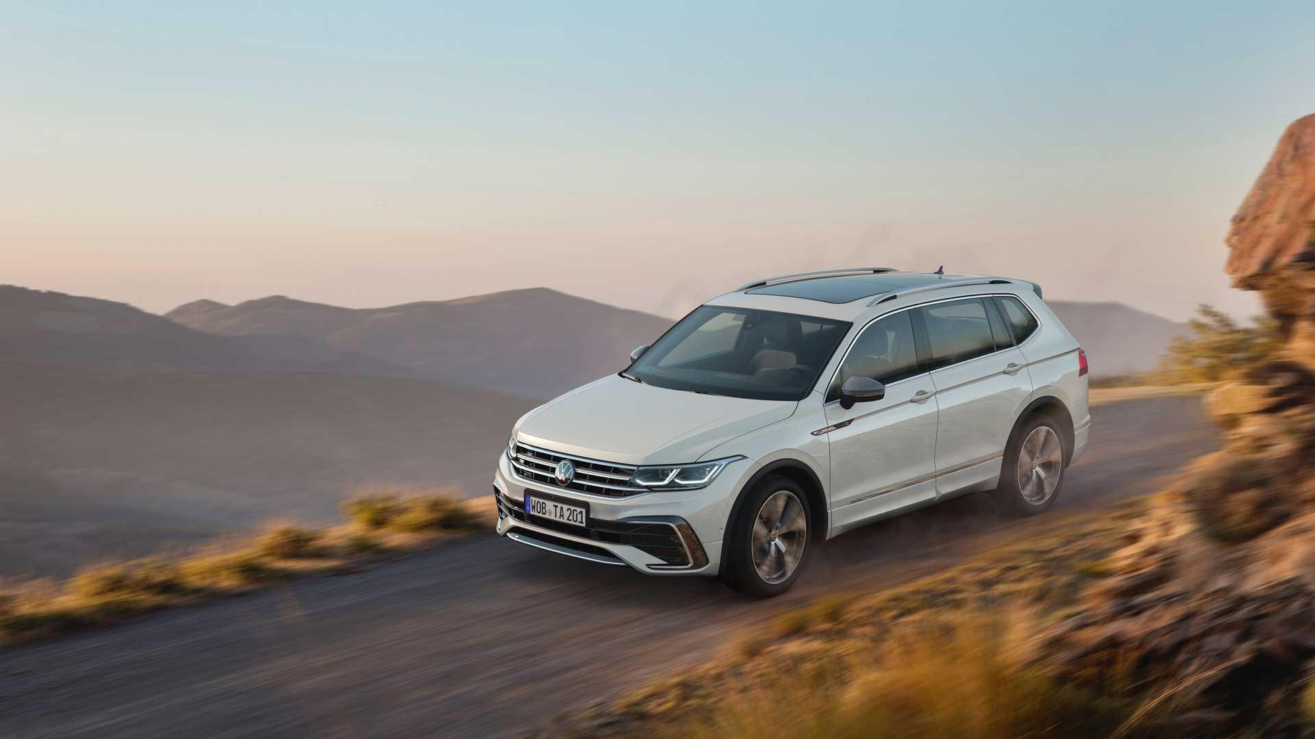 Volkswagen Tiguan Allspace restyling 2021: le novità della rinnovata 7 posti