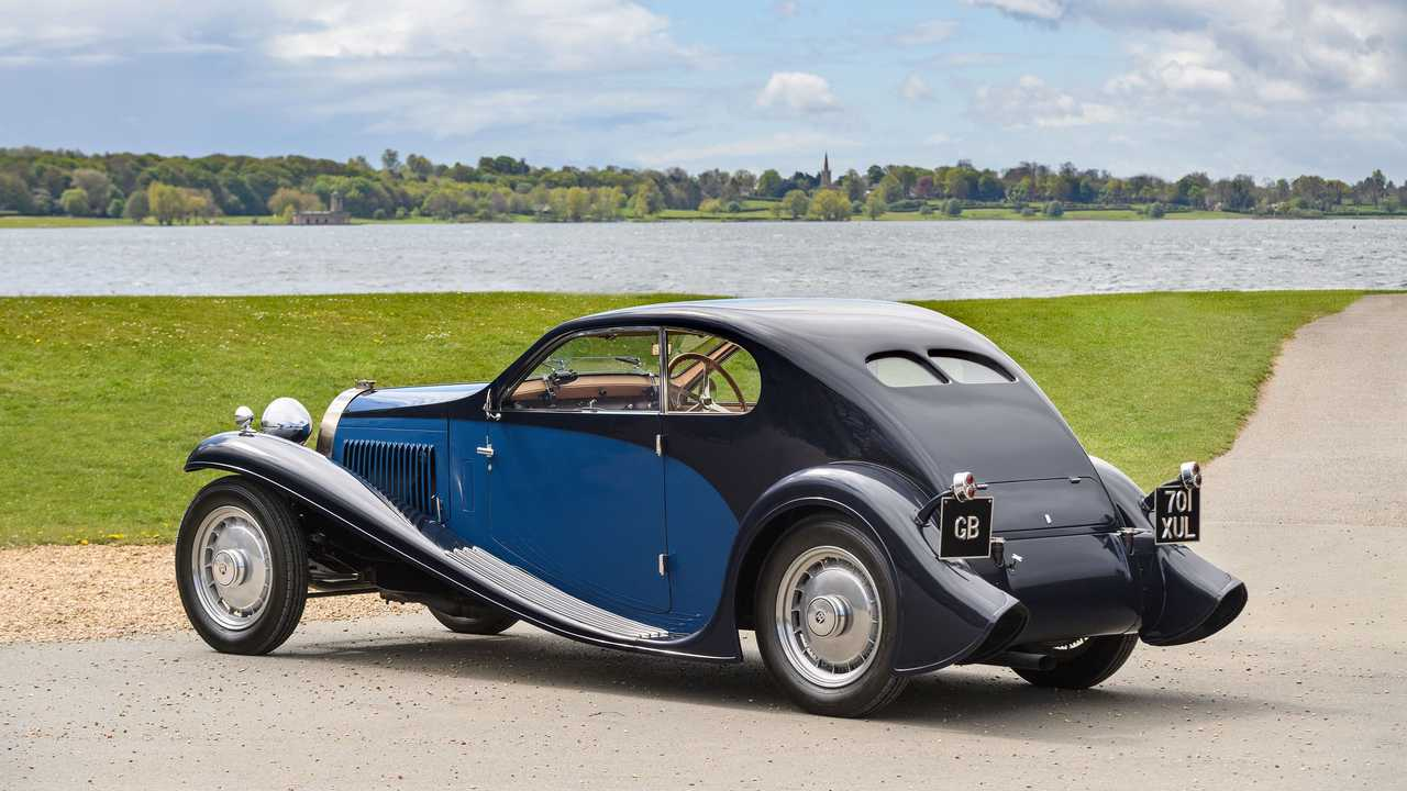 1931 Bugatti Type 46 Coupé Superprofilée
