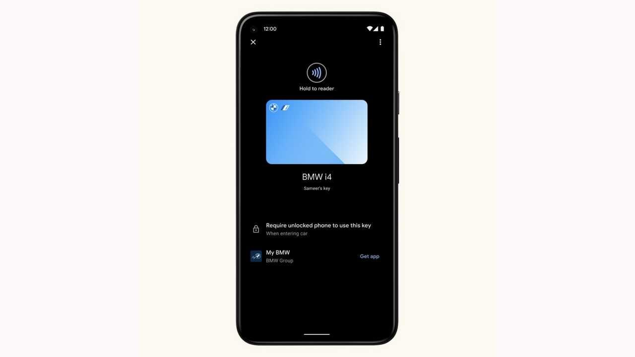 Smartphone Android come chiave dell'auto