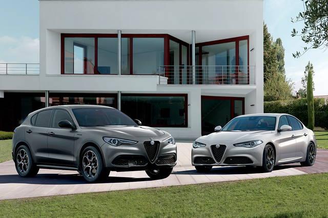 Alfa Romeo Giulia e Stelvio: arrivano le Web Edition