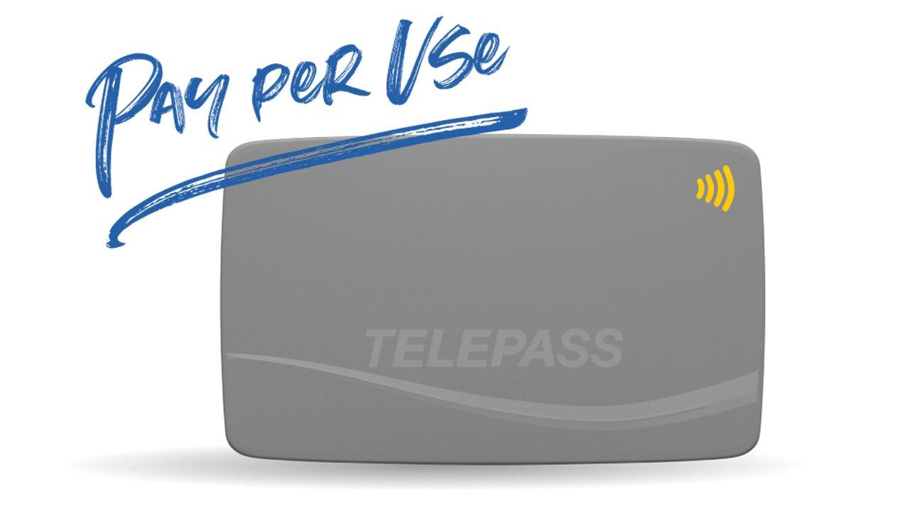 """Arriva il Telepass """"Pay Per Use"""" senza costi fissi mensili"""