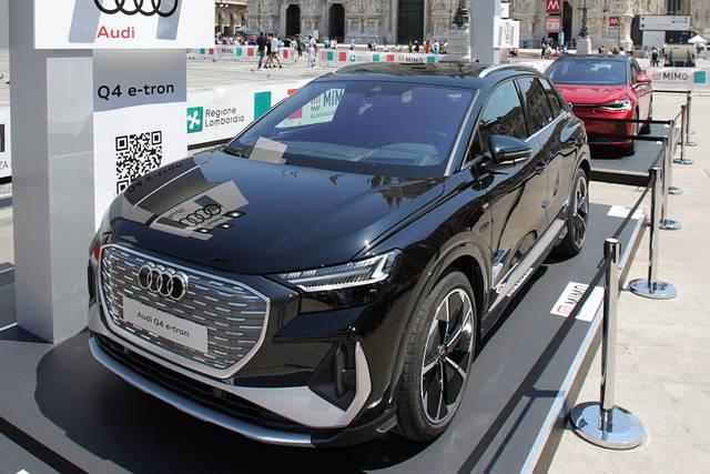 L'Audi Q4 e-tron al MIMO 2021