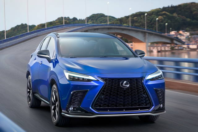 Lexus NX: un pieno di novità
