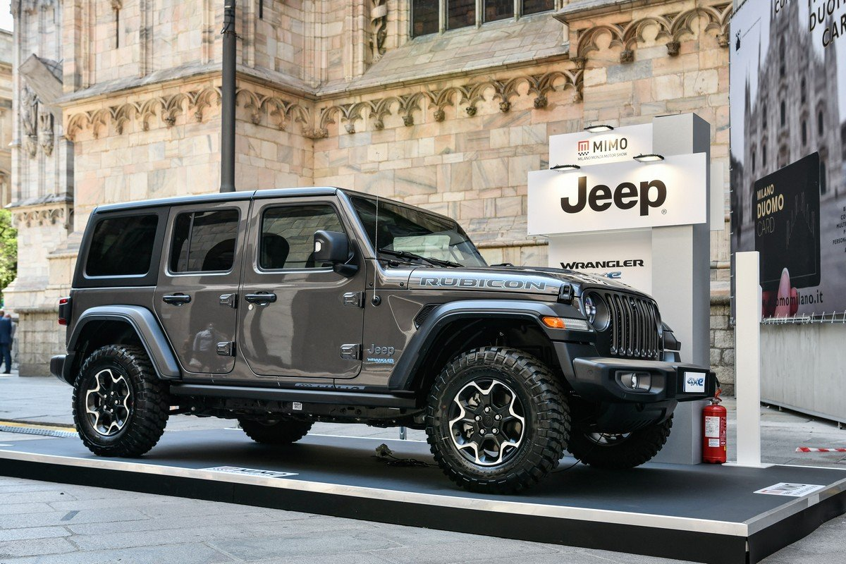 Jeep Wrangler 4xe al MIMO 2021