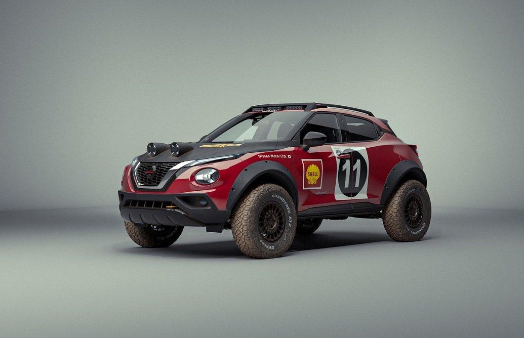 Nissan Juke Rally Tribute Concept: celebra i 50 anni dalla vittoria all'East African Safari