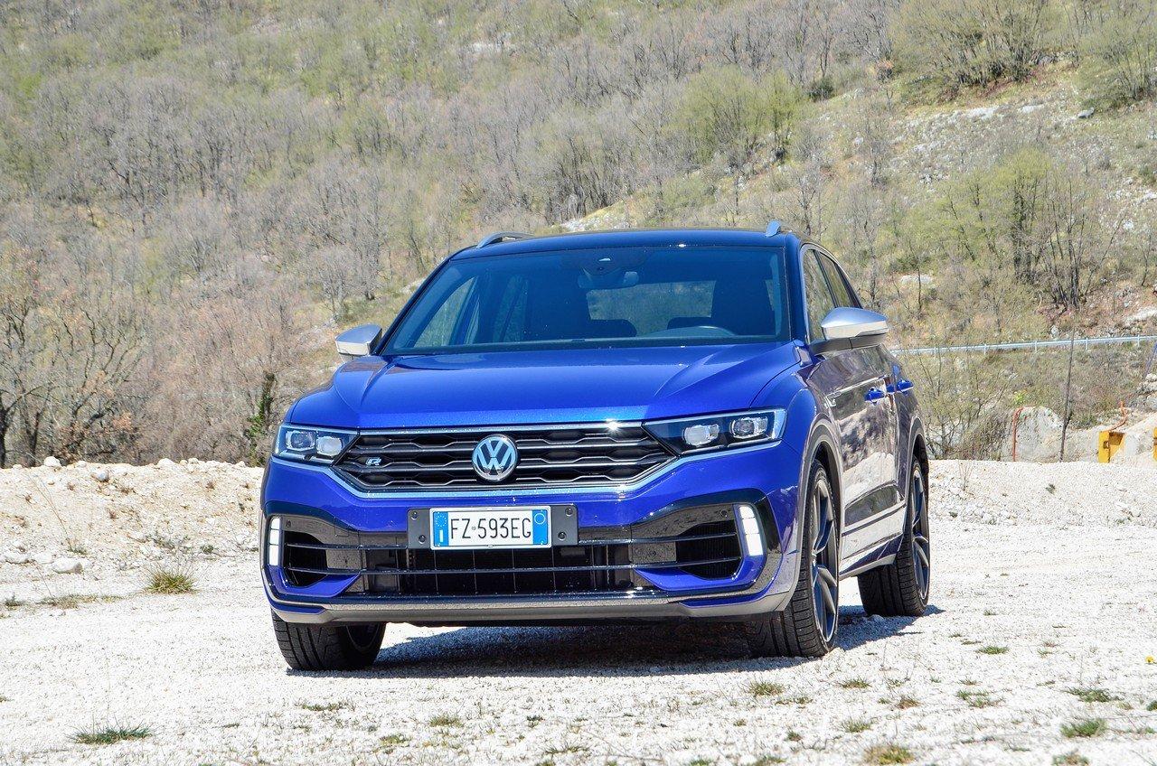 Volkswagen T-Roc R: prova su strada