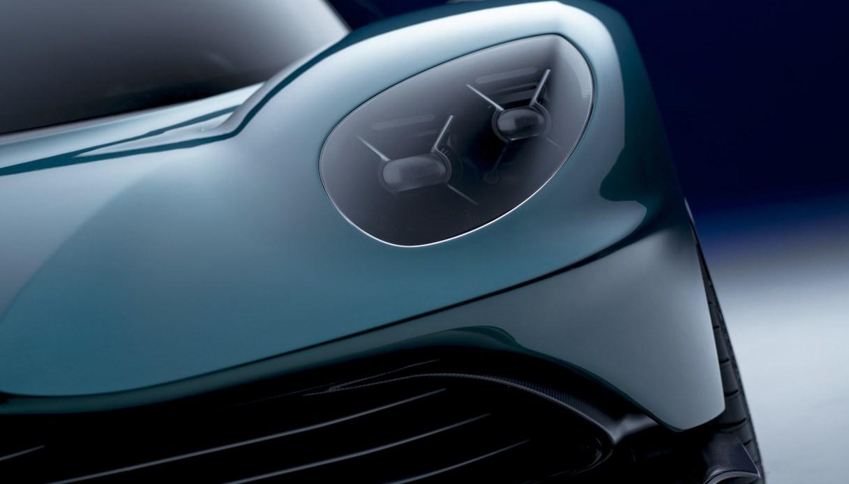 La nuova Aston Martin Valhalla