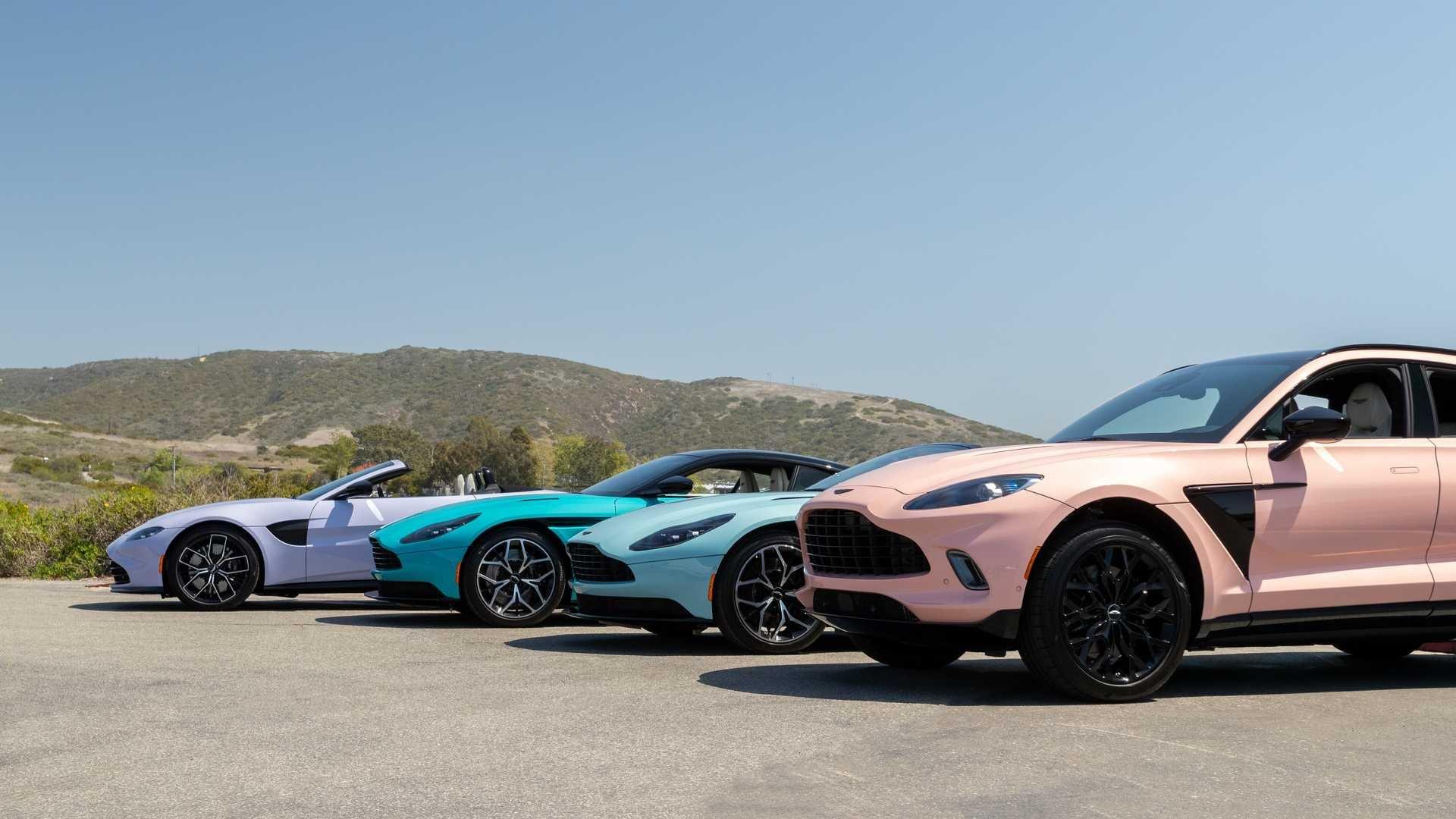 Aston Martin: in arrivo nuovi modelli in sinergia con Mercedes-AMG