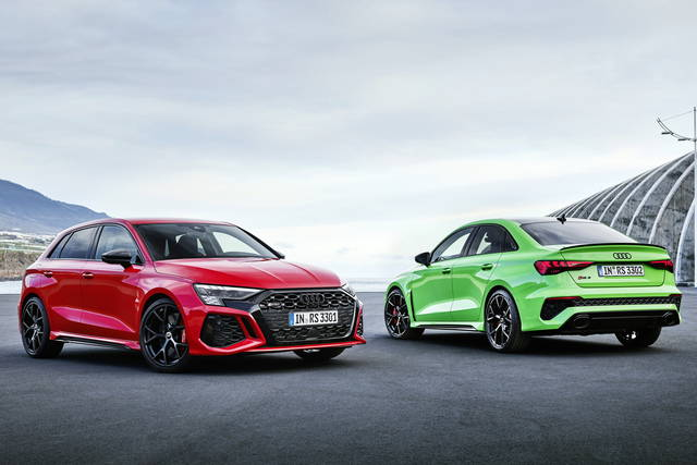 Audi RS3: sportiva vecchia scuola