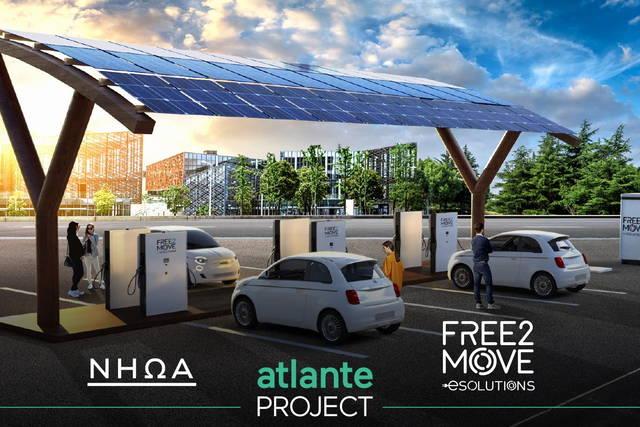 Free2Move eSolutions costruirà una rete di ricarica