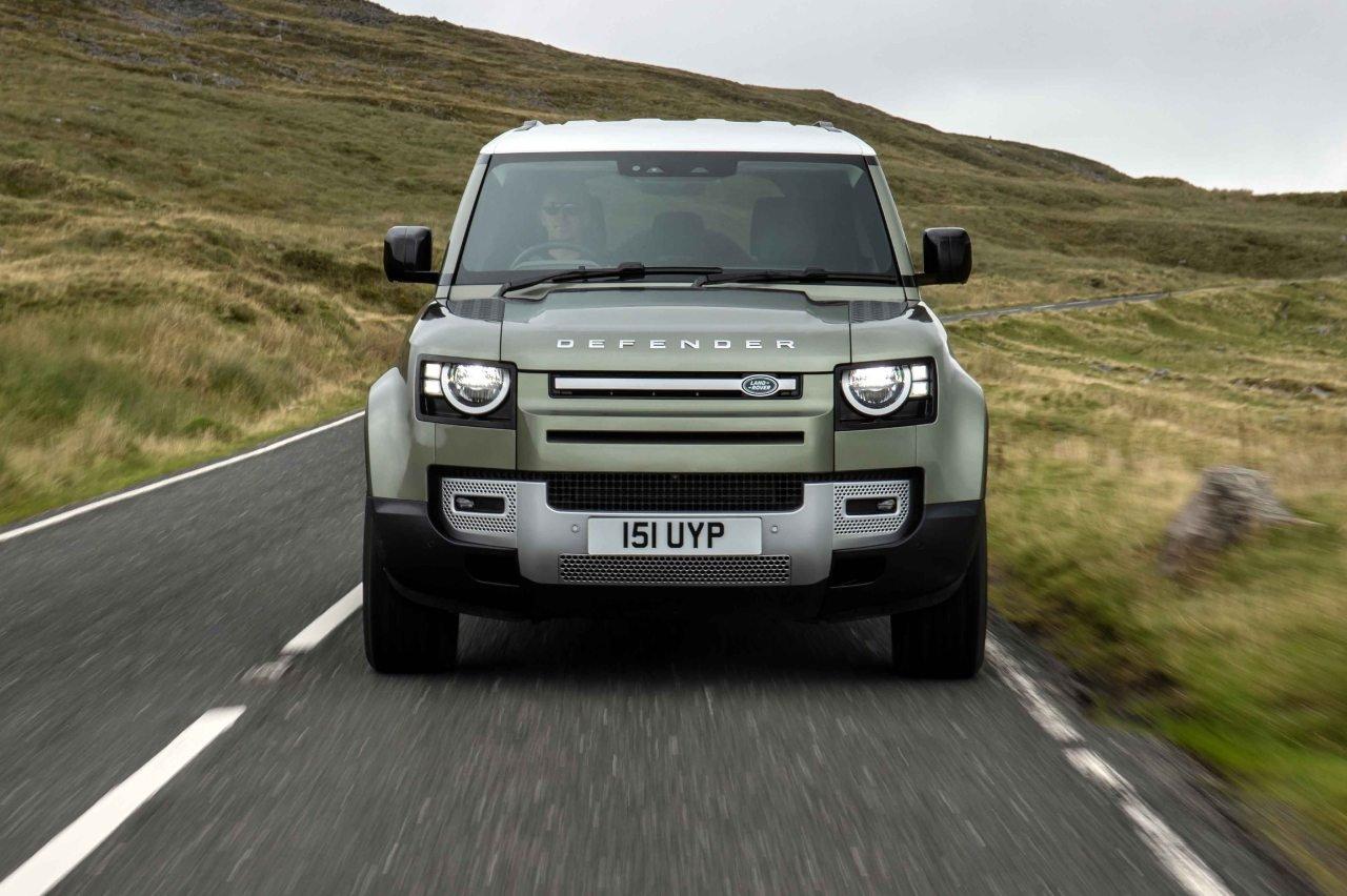 Land Rover Defender a idrogeno