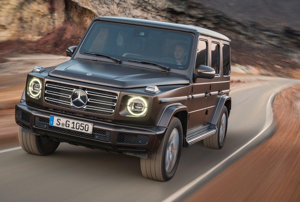 Mercedes EQG: imminente il debutto della fuoristrada elettrica