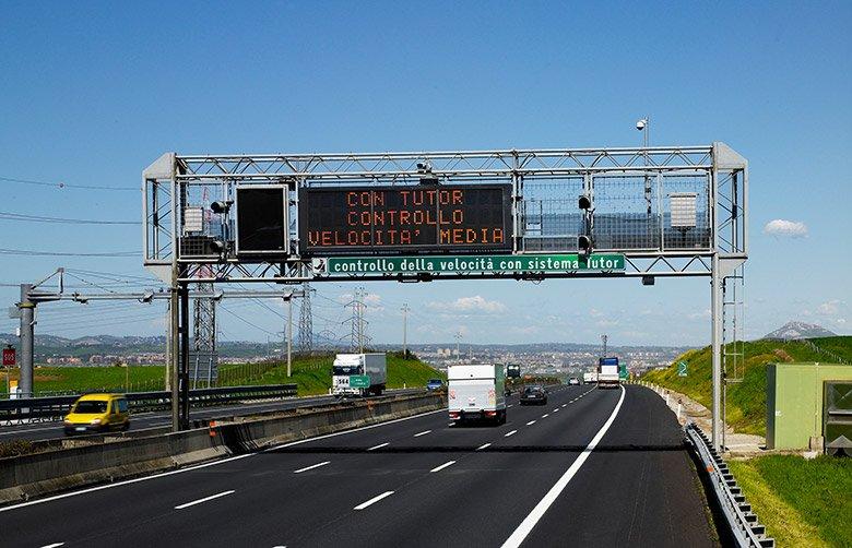 Tutor, estate 2021: dove sono attivi sulle autostrade