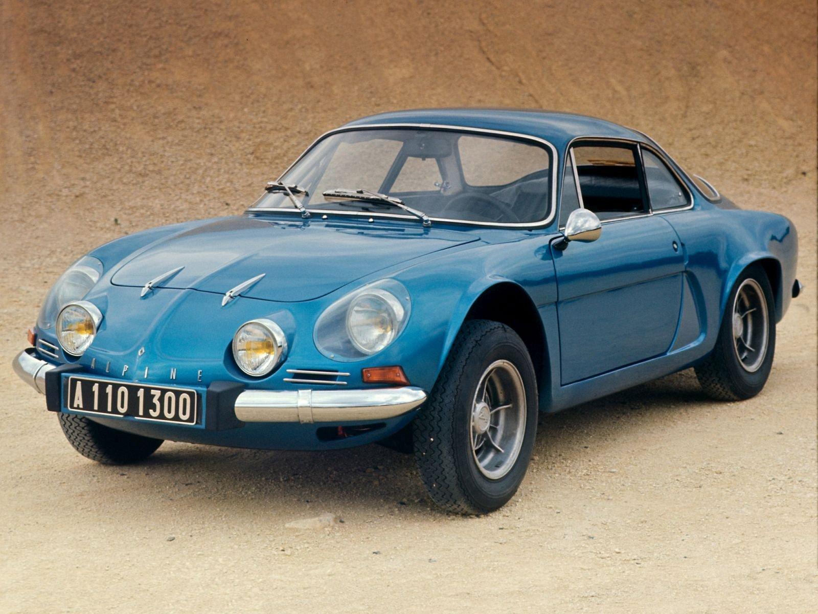 Alpine A110: sessant'anni per la storica coupé francese