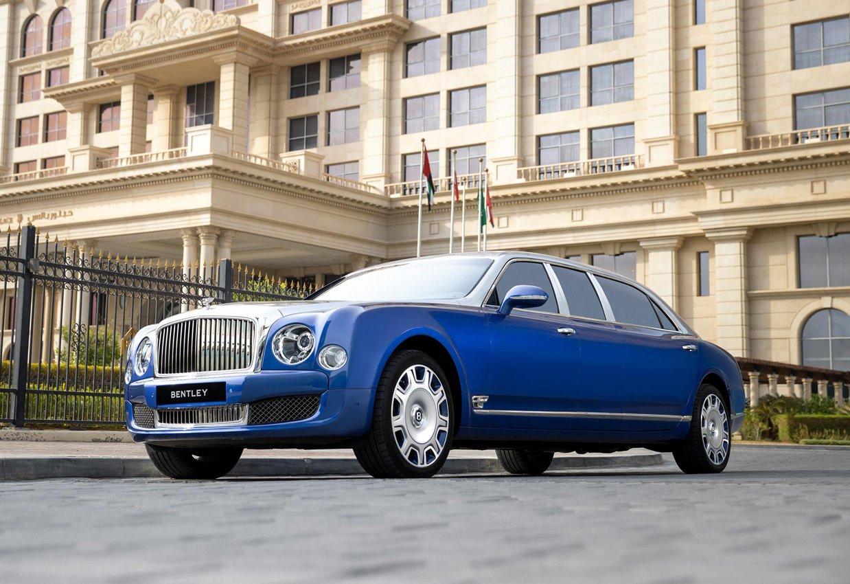 Bentley Mulsanne Grand Limousine Mulliner: solo 5 esemplari