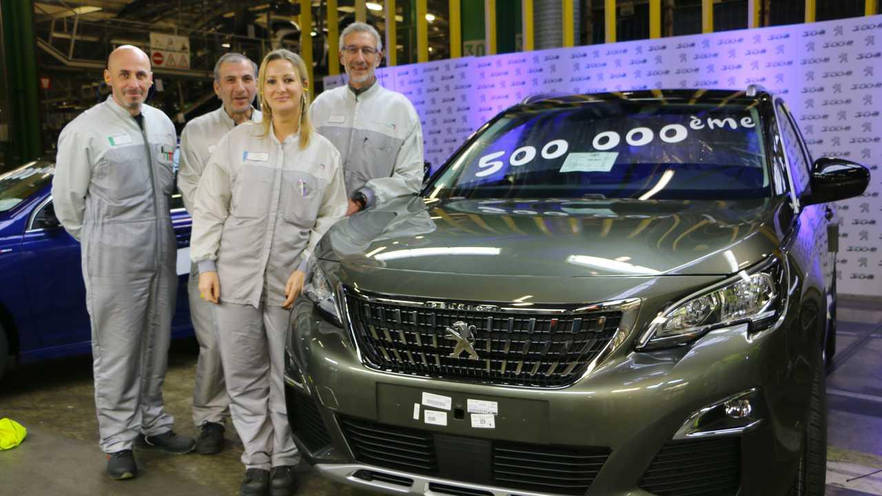 Peugeot, la fabbrica di Sochaux