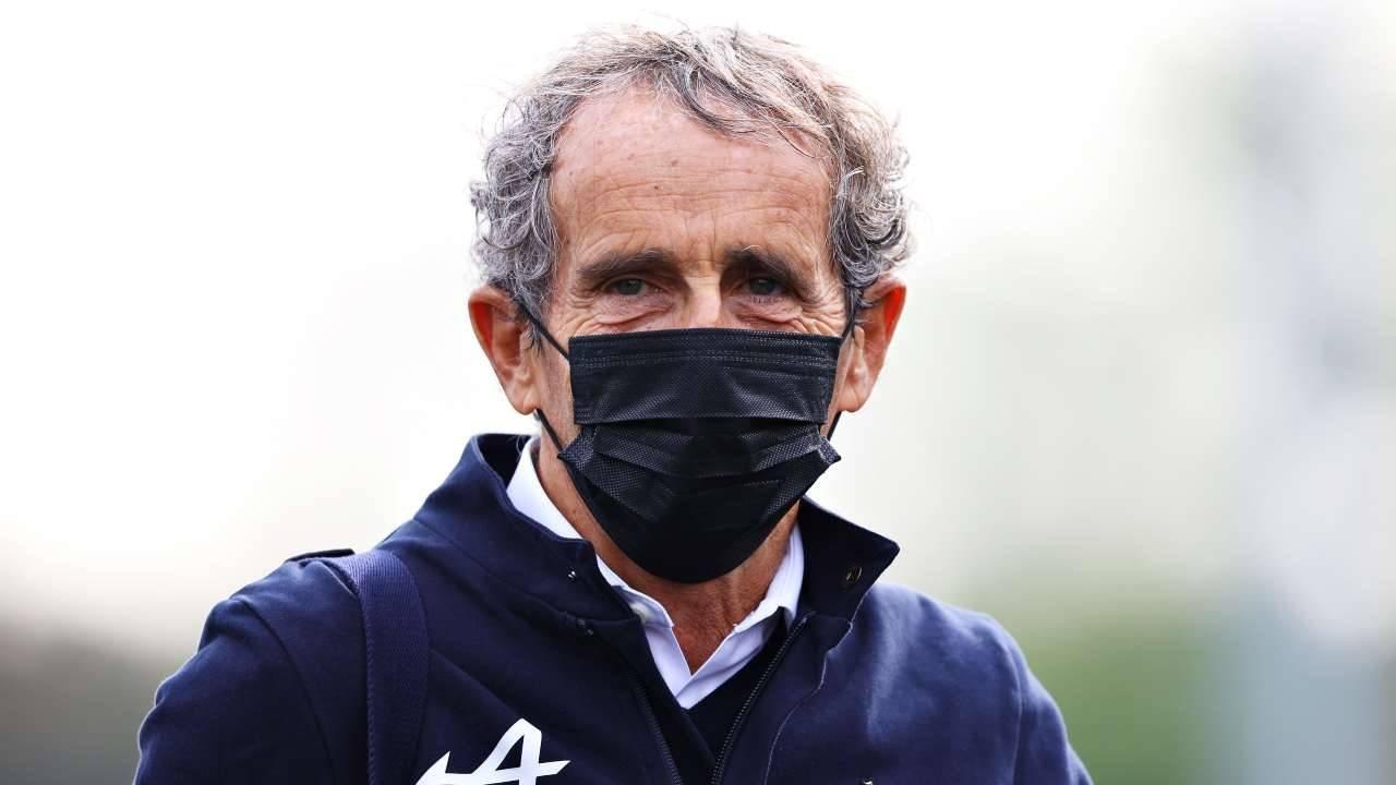 F1: Alain Prost contro la griglia invertita