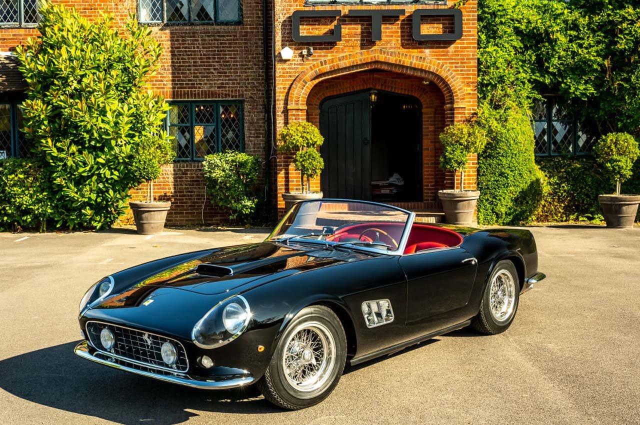 GTO Engineering svela la Ferrari California Spyder Revival
