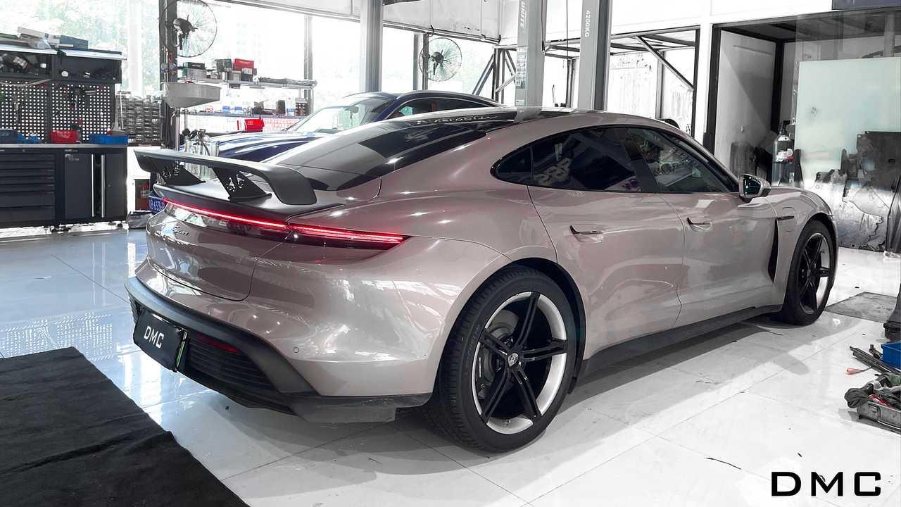 Kit aerodinamico DMC per Porsche Taycan