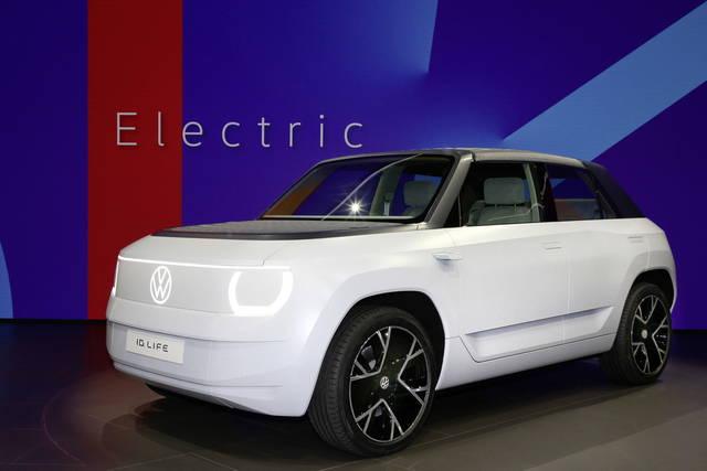 """Volkswagen ID.Life: futura utilitaria """"alla spina"""""""