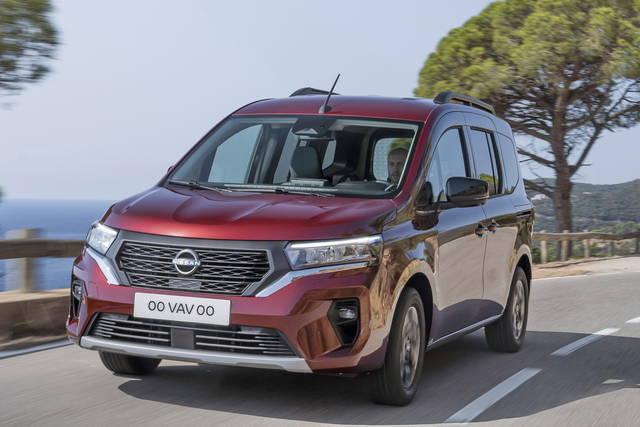 Nissan Townstar: il nuovo multispazio parla francese
