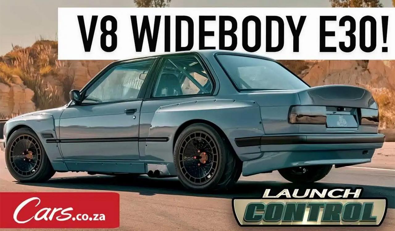 Bmw Serie 3 E30 by Ace Customs: il restomod con motore V8 Toyota